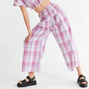 Cute cotton pants from Urban Outfitters.